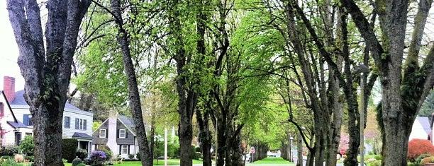 Eastmoreland Neighborhood is one of Neighborhoods of Portland.
