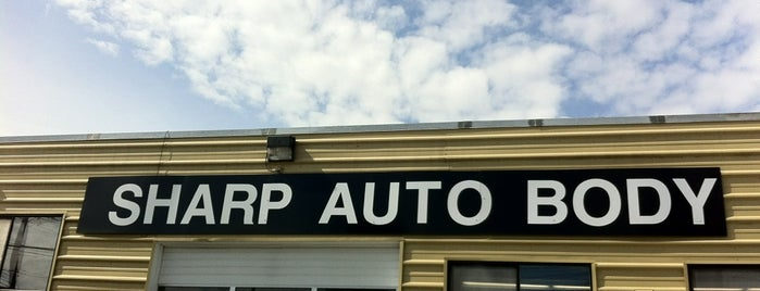 Sharp Auto Body is one of Lugares favoritos de Jim.