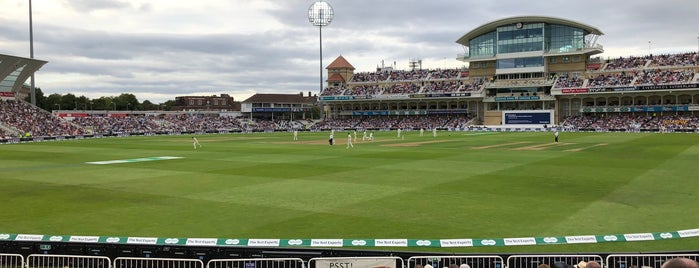 Trent Bridge Cricket Ground is one of Aniruddha'nın Beğendiği Mekanlar.