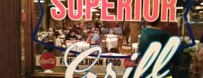 Superior Grill is one of Tempat yang Disukai Ross.