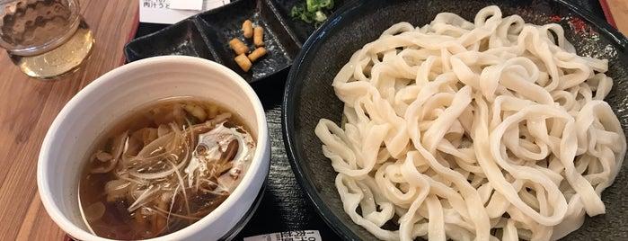 豊後肉汁うどん is one of 麺リスト / うどん・パスタ・蕎麦・その他.