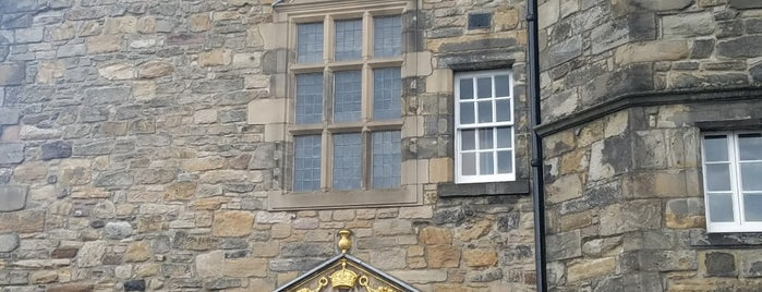 Royal Palace is one of Edinburgh.