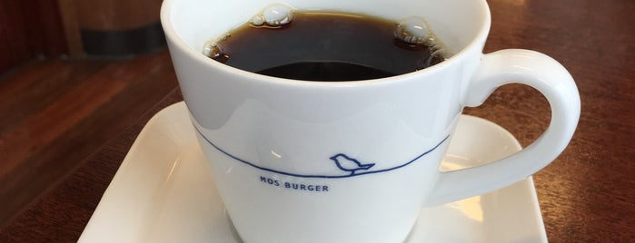 MOS Burger is one of Lugares favoritos de Shigeo.