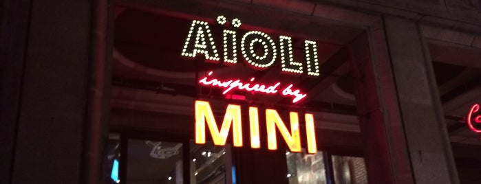 AïOLI inspired by MINI is one of Hipster Places in Warsaw.