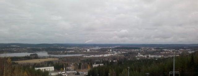 Laajavuori is one of Jyväskylän kaupunginosat.