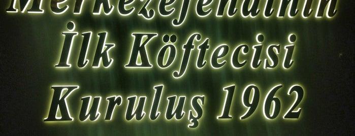 Rahmi Usta 1962 Merkezefendi Köftecisi is one of IST.