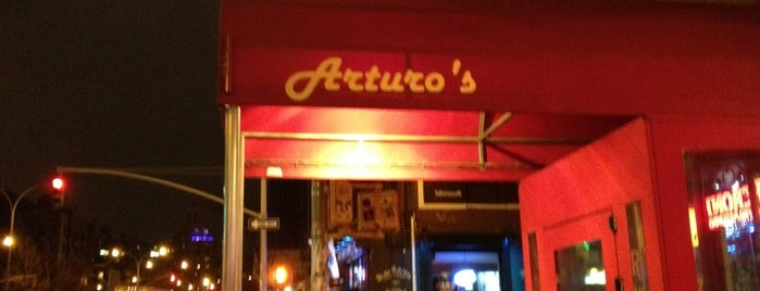 Arturo's Restaurant is one of NYC 2014 mam AC.