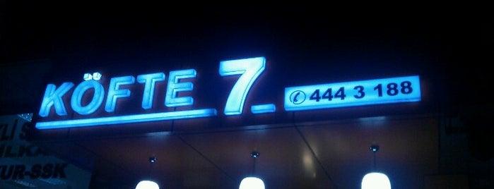 Köfte 7 is one of สถานที่ที่ Kubilay ถูกใจ.