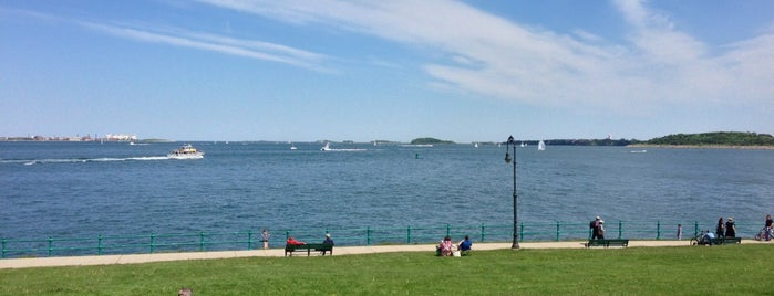 Castle Island is one of Boston.
