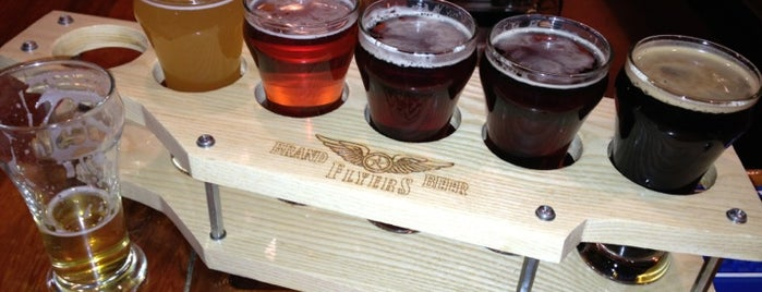Flyers Restaurant and Brewery is one of Whidbey Island Eats.