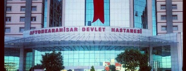 Afyonkarahisar Devlet Hastanesi is one of Locais curtidos por 🇹🇷.
