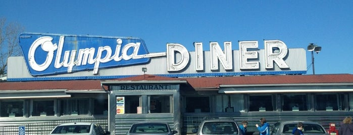 Olympia Diner is one of Lugares favoritos de Lindsaye.