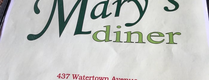 Mary's Diner is one of Lugares favoritos de Lindsaye.