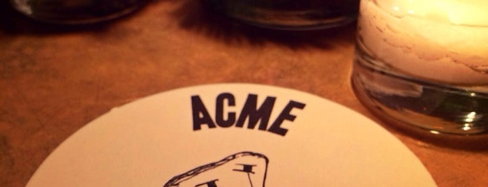 ACME is one of Dashstablishments.