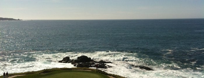 Pebble Beach AT&T National Pro Am is one of Lugares guardados de Hard.