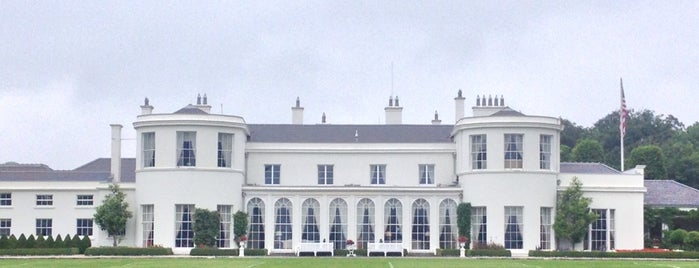 U.S. Ambassador's Residence is one of Dublin. Ireland.
