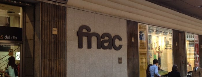 Fnac is one of Locais salvos de Manuel.