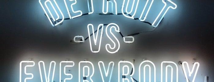 Detroit vs Everybody is one of Lieux qui ont plu à Ben.