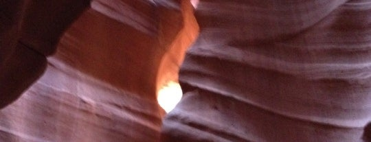 Antelope Canyon is one of Gez Gor.