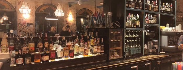 EscoBar. Cuban restaurante y Escondido bar is one of Tempat yang Disimpan Nastya.