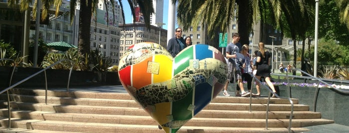 Union Square is one of San Francisco - 2014 trip.