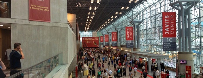 Jacob K. Javits Convention Center is one of The Geek Guide to NY Comic Con & NY Super Week.