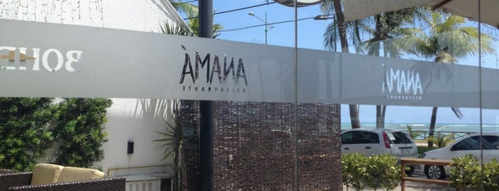 Anamá Restaurante is one of Locais curtidos por Filipe.