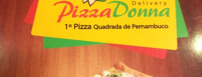 Pizza Donna is one of Comida.