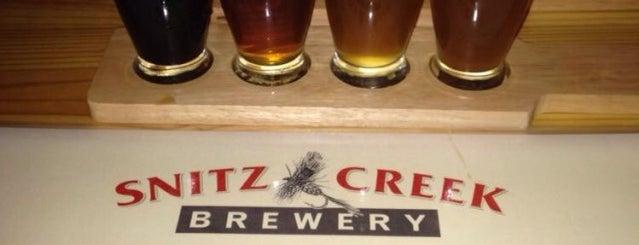 Snitz Creek Brewery is one of Gespeicherte Orte von Scott.