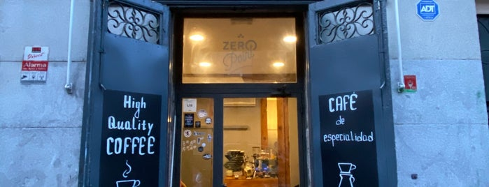 Zero Point Coffee Shop is one of Madrid.