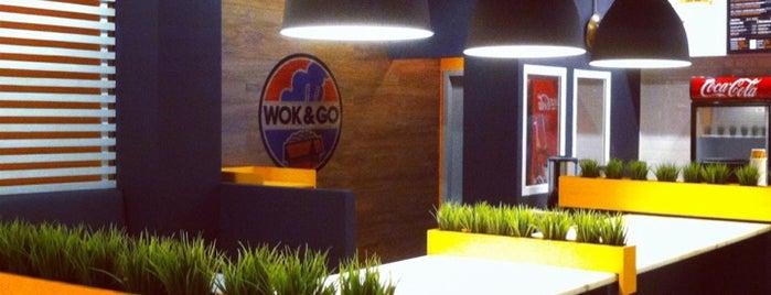 Wok&Go is one of Lugares favoritos de Анастасия.