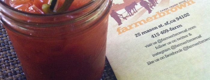 Farmer Brown is one of SF's rarefied boozatoriums.