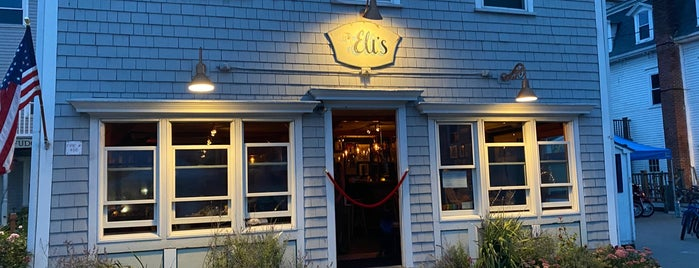 Eli's is one of Block Island.