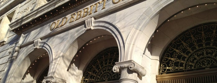Old Ebbitt Grill is one of Visited Restaurants.