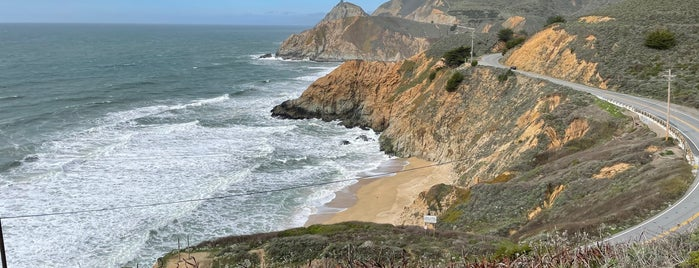 Gray Whale Cove Trail is one of HWY1: SF to Davenport.