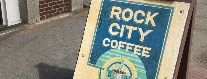 Rock City Coffee Roasters is one of Tempat yang Disukai Al.