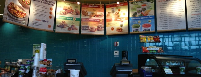 Tropical Smoothie Cafe is one of Kia's Liked Places.