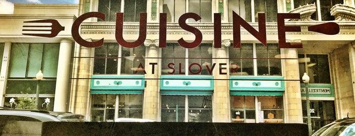 Cuisine @ Slover is one of Tempat yang Disukai David.