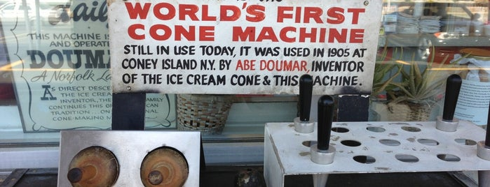 Doumar's Cones & Barbecue is one of va beach // to check out.