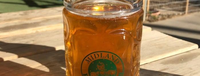 Midland Beer Garden is one of My Favorite Beer Bars.