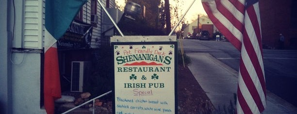 Shenanigan's Restaurant & Irish Pub is one of Orte, die Adan gefallen.