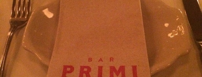 Bar Primi is one of Restaurants.
