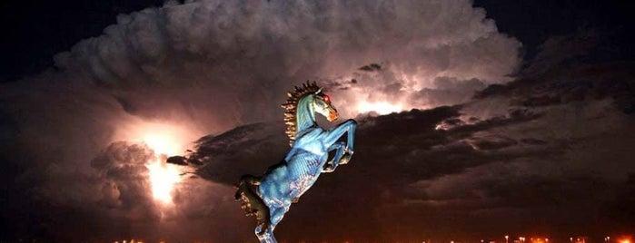 Mustang by Luis Jiménez is one of Denver.