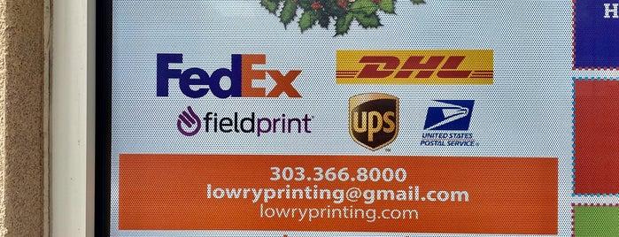 Lowry Print & Ship is one of Locais curtidos por 🤓Talia.