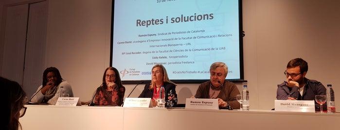Col·legi de Periodistes de  Catalunya is one of Rosa Maria 님이 좋아한 장소.