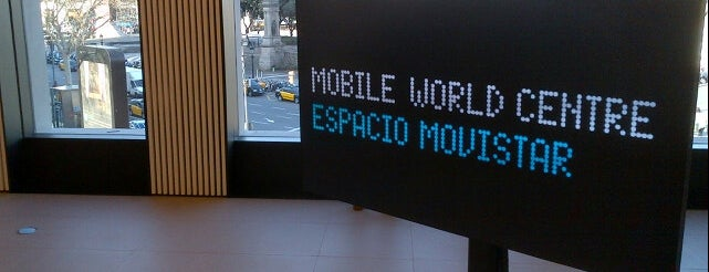 Movistar Centre is one of #mwc13.