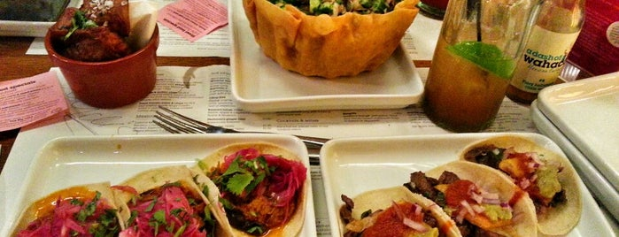 Wahaca is one of Agave Bars & Restaurants Across The Globe.