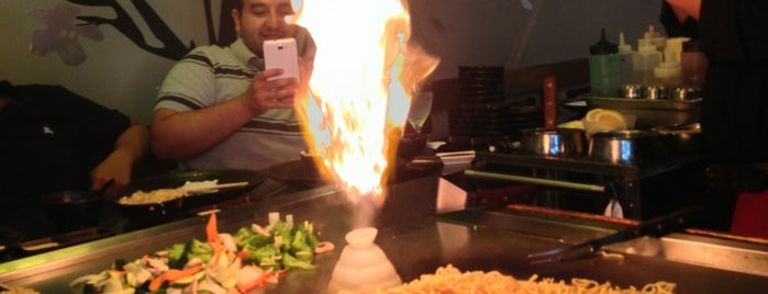 Sakura Teppanyaki & Sushi is one of Interactive Dining.