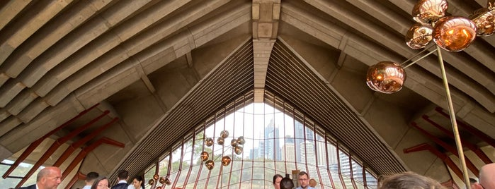 Bennelong Restaurant is one of Places to try.