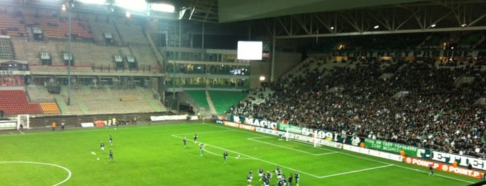Stade Geoffroy Guichard is one of Soccer Stadiums.